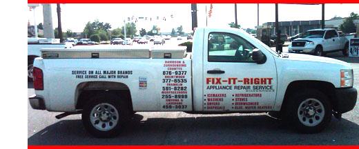 Fix It Right Appliance Repair Appliances Repair Nashville